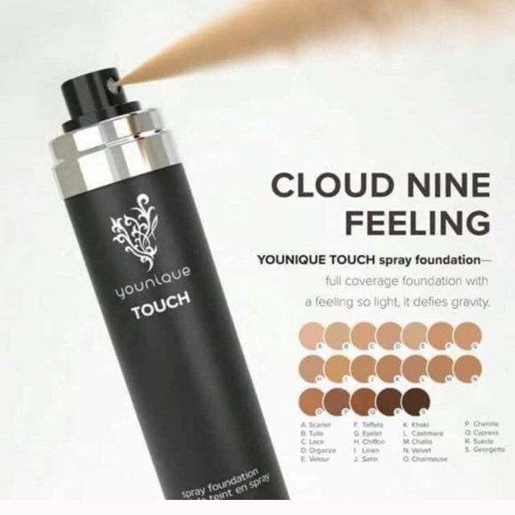 Younique Makeup Touch Spray Foundation Poshmark